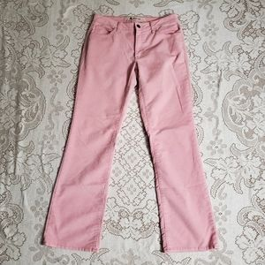 Gap pink bootcut corduroy pants size 6R
